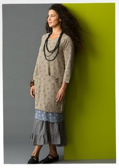 """""""Tusensköna"""" linen & cotton tunic – Blouses & waistcoats – GUDRUN SJÖDÉN – Webshop, mail order and boutiques 