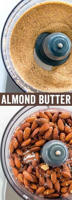 In just a few simple steps, smooth and creamy almond butter can be made in minutes using a food processor or blender. It's the perfect protein-packed spread to use on sandwiches, snacks and baked goods. #almondbutter via @foodiegavin