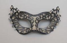 Zamaskowana: Maski weneckie na oczy: Icy dream & Steel cream