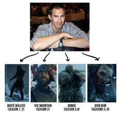 ian whyte game of thrones Valar Dohaeris, Valar Morghulis, Game Of Thrones Facts, Game Thrones, Game Of Thrones Instagram, Game Quotes, Tv Quotes, The Winds Of Winter, A Clash Of Kings