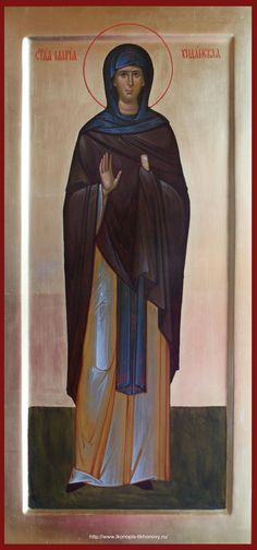 Saint Maria  /  Мерная икона