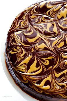Ciasto czekoladowe z masłem orzechowym, któremu nie da się oprzeć [bez mąki]