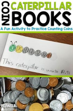 Students love this fun coin counting activity! It's hands-on and engaging and offers meaningful practice with counting coins.