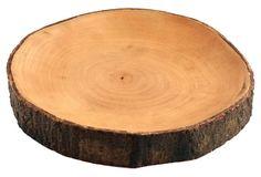 Mango Wood Platter w/ Bark, Large on OneKingsLane.com