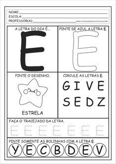 Letter E Activities, Preschool Letters, Finger Plays, Step Kids, Alphabet, Homeschool, Lettering, Teaching, Hercules