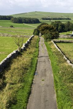 This is along the Tissington Trail in the Derbyshire Peak District, a cycling trail following the former railway line between Buxton and Ashbourne.