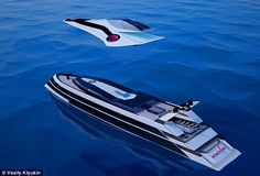 This Concept Yacht Has A Top Deck That Can Fly Like A Jet When Needed - https://technnerd.com/this-concept-yacht-has-a-top-deck-that-can-fly-like-a-jet-when-needed-2/?utm_source=PN&utm_medium=Tech+Nerd+Pinterest&utm_campaign=Social