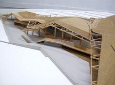Architectural Model: Premio arquitectura en madera 2008 | Equipo: Sergio Villar y Victor Iván Novello