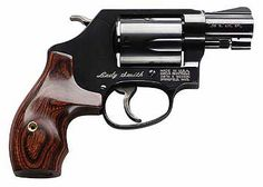 Smith and Wesson 36 Lady Smith Revolver//I love that it's called Lady Smith! :) http://www.gunshopfinder.com/smithandwesson/smithandwesson36LS.asp