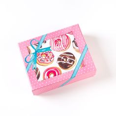 Illustrated Donuts Boxed Notes (Set of 20)