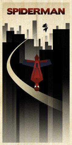 Minimal Movie Posters - Spiderman