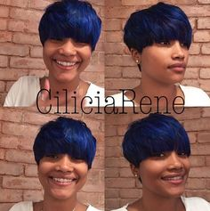 Royal Color, Gorgeous Cut @ciliciarene - http://community.blackhairinformation.com/hairstyle-gallery/short-haircuts/royal-color-gorgeous-cut-ciliciarene/