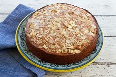 Italian Food Forever » Applesauce Honey Cake