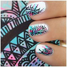 Nail art is a very popular trend these days and every woman you meet seems to have beautiful nails. It used to be that women would just go get a manicure or pedicure to get their nails trimmed and shaped with just a few coats of plain nail polish. Cute Nail Art, Beautiful Nail Art, Gorgeous Nails, Pretty Nails, Crazy Nail Art, Super Cute Nails, Beautiful Women, Fancy Nails, Diy Nails
