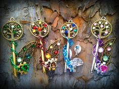 collection of cameos four elements is finally finished! collection of cameos four elements Key Jewelry, Cute Jewelry, Jewelery, Anime Weapons, Fantasy Weapons, Magical Jewelry, Fantasy Setting, Key To My Heart, Key Necklace