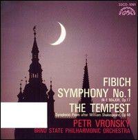 Symphony no. 1 in F major, op. 17 ; The tempest [sound recording] : symphonic poem after William Shakespeare : op. 46 / Zdeněk Fibich