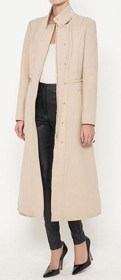 Narciso Rodriguez Rose Pink Coat | VAUNTE Love this coat