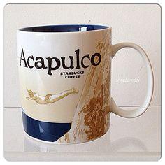 Acapulco city mug from Starbucks!