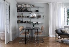 Umber and Chestnut Accents in a Lovely Swedish Home