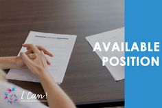 Browse our available job positions and apply!