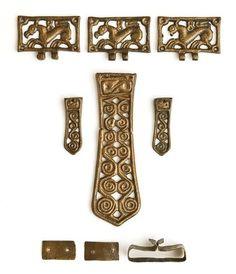 avar övveretek, Nemesvölgy Medieval Belt, Medieval Jewelry, Viking Jewelry, Ancient Jewelry, Early Middle Ages, Archaeological Finds, Minoan, Strange History, Viking Age