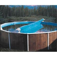 Homemade Solar Cover Reel In 2019 Solar Pool Cover Pool