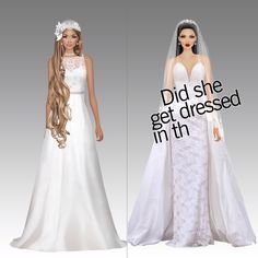 Ideas for hair wedding video gowns Star Fashion, Love Fashion, Fashion Looks, Bridesmaid Dresses, Prom Dresses, Wedding Dresses, Hair Wedding, Covet Fashion Games, Style Challenge