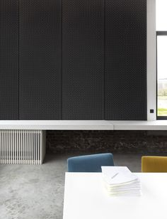 Cello Acoustic panels. Interior design textiles by Casalis. www.casalis.be