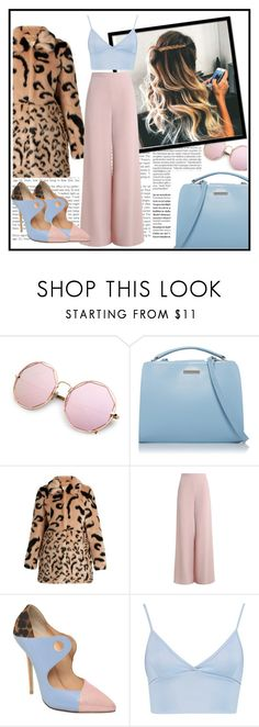 """""""extraordinary"""" by scheherazadee ❤ liked on Polyvore featuring Balmain, Shrimps, Zimmermann, Giannico and Boohoo"""