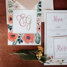 See more at www.createlove.design  Photo: @emilyoud Planner & Rentals: @chantelleashleyevents Floral: @always_sunnydesign Paper: @createlove.design Bridal Jewelry: @joannabisleydesigns Sweets: @modernbakeyyc Rug: @cdlcalgary Jewelry Box: @the_mrs_box Beauty: @blushandcoco Models: @numamodels Dress Shop: @thebridalboutique Venue: @studiospaceyyc Men's Stylist: @the.kingly Menswear: @suprememenswear #modernbakeyyc