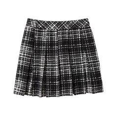Banana Republic Women Factory Pleated Mini Skirt (31 AUD) ❤ liked on Polyvore featuring skirts, mini skirts, inverted pleat skirt, mini skirt, banana republic, pleated skirt and short skirts