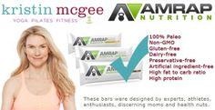 Kristin McGee | Celebrity Yoga Pilates Fitness Instructor | Partners with AMRAP Nutrition