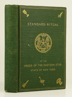 Standard Ritual of the Order of the Eastern Star Eastern Star, Freemasonry, Stars, Books, Products, Libros, Book, Sterne, Book Illustrations