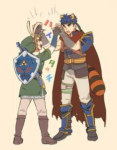 Link, Ike #SmashBros4