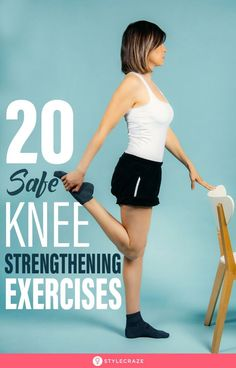 Sciatic Pain, Sciatica, Knee Strengthening Exercises, Knee Stretches, How To Strengthen Knees, Chiropractic Treatment, Knee Pain Relief, Fitness Tips, Fitness Exercises