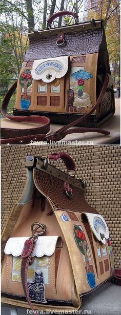 'boulangerie' doctor's bag by Bella Kolosova