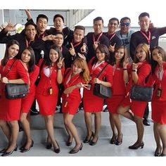 Air Asia is one of my favourite airline! Which airline is your favourite? Tag us at #cabincrewconnect with your crew life photos  Follow and like us @cabincrewconnect#crewiser, by crewiser.com