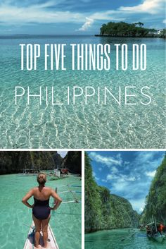 Philippines. Top Five. Itinerary. Best of the Philippines.