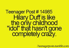 Oh my gosh! So true! And Emily Osment but no one remembers her.