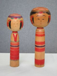 Sato Imasaburo 佐藤今三郎 (1889-1959), Master Sato Kota, left 21.2 cm, 1941; right 25.1 cm, 1940