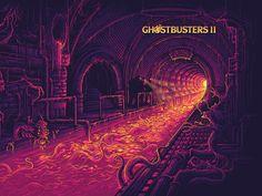 Dan Mumford - Official Ghostbusters 1&2 Steel Books Blu-Ray Designs