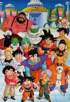 Dragon Ball anime Akira Toriyama Son Goten Trunks Kuririn Muten Roshi Kame Sennin Son Gohan Marron Videl 18 Chi Chi Karin Son Goku Yamucha Bulma Piccolo Dende Mr. Popo Oolong Pu'er Puar Gyuumao Majin Boo Saga Boo Saga