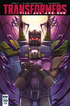 Transformers Till All Are One Issue #10 Three Page iTunes Preview