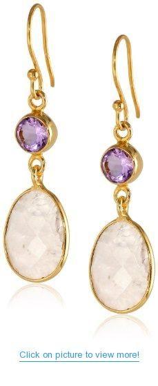 14k Gold over Sterling Silver Drop Earrings #14k #Gold #Sterling #Silver #Drop #Earrings