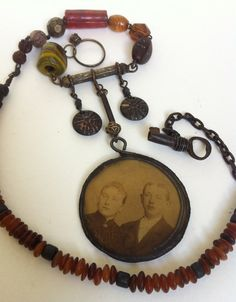 The Two Rustic Victorian Tribal Assemblage by AlteredArcheology, $74.00