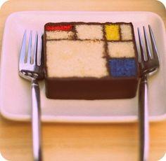 Mondrian for dessert. yum