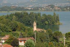 Vista dalla Villa di Delizia, Eupilio. Lago di Pusiano