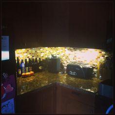 Set Of 3 Led Under Cabinet Lighting Kit 2watt Warm White