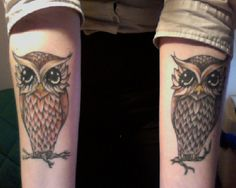 i am highly considering getting a tattoo of an owl.