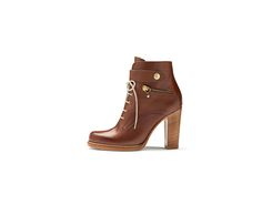 Spring Summer 2015, Ankle Booties, Peeps, Peep Toe, Lace Up, Footwear, Booty, Shopping, Shoes